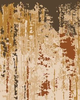 Alte tapetenbeschaffenheit. abblätternde farbe. schichten in verschiedenen farben