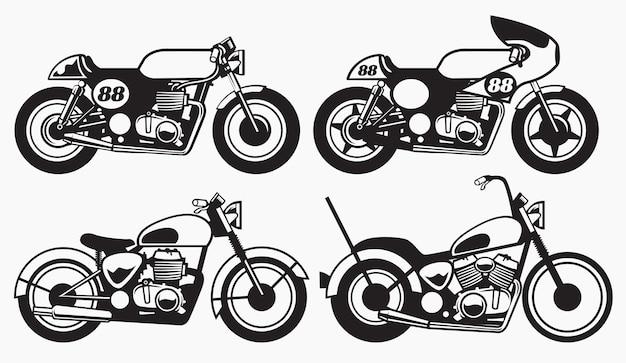 Alte vintage motorräder