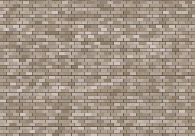Alter backsteinmauerhintergrund. nahtloser mustervektor der ziegelsteinbeschaffenheit.