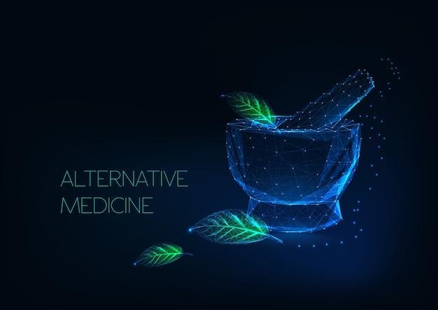 Alternatives medizin-konzept