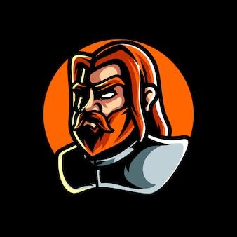Altes allgemeines sport-maskottchen-logo