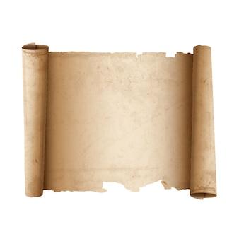 Altes schriftrollenpapier