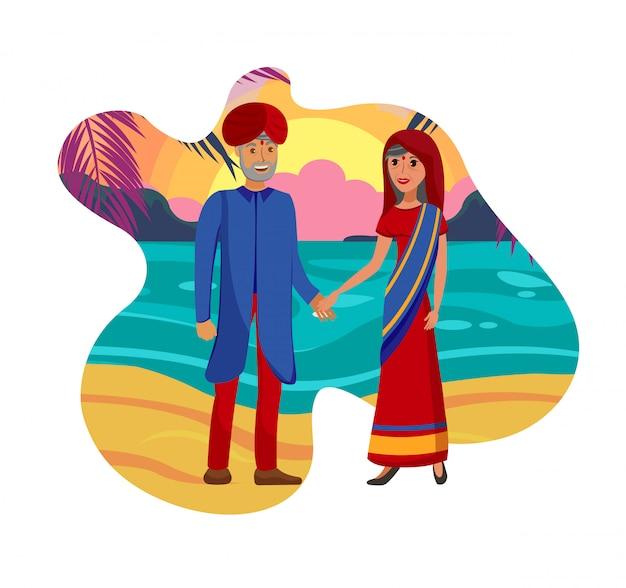 Altes verheiratetes paar