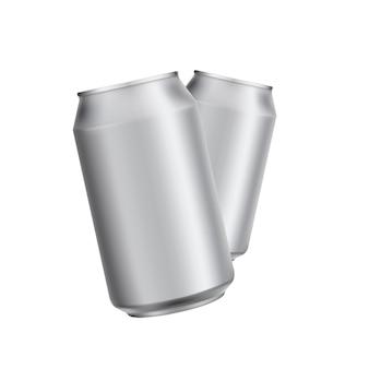 Aluminium kann soad oder bier vorlage trinken