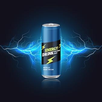 Aluminiumdosen mockup metalldosen für biersoda limonade saft energy drink