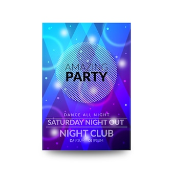 Amazing party flyer design
