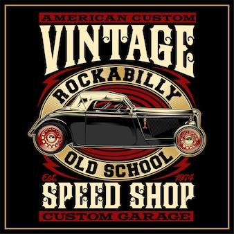 American custom vintage