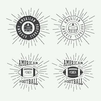 American football-embleme