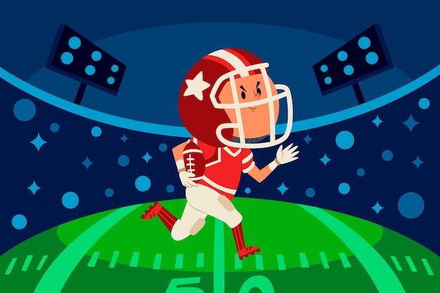 American-football-illustration