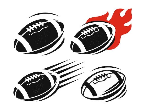 American football rugby ball spiel sportwettbewerb