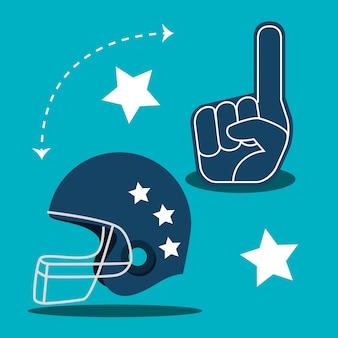 American football-spielsport