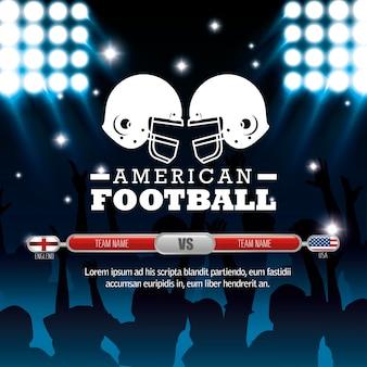 American football-sport-symbol