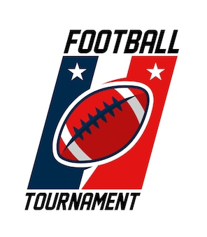 American football-turnierlogo
