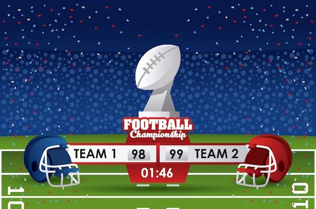 Amerikanische fußballmeisterschaft