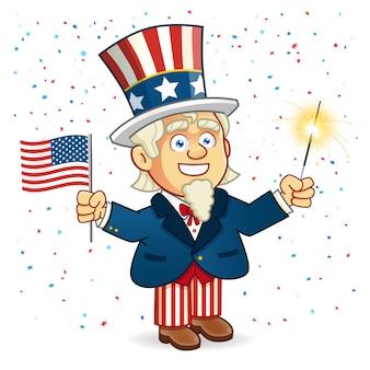 Amerikanische parade