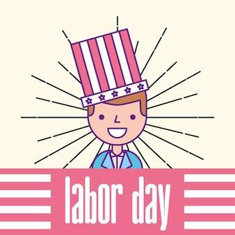 Amerikanischer arbeitstag