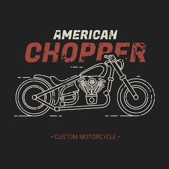 Amerikanischer chopper