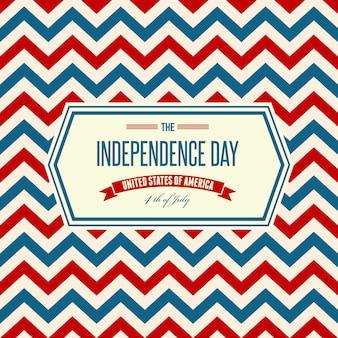 Amerikanischer patriotischer hintergrund des unabhängigkeitstags