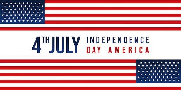 Amerikanischer unabhängigkeitstaghintergrund