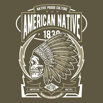 Amerikanischer ureinwohner