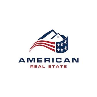 Amerikanisches gemälde-logo