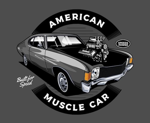 Amerikanisches muscle-car