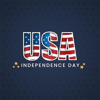 Amerikanisches unabhängigkeitstag-konzept.