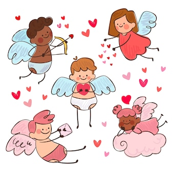 Amor-charakter-sammlung