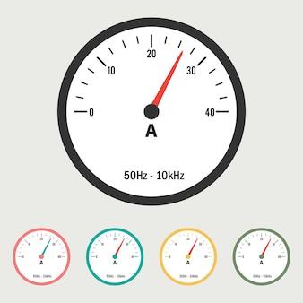 Amperemeter-illustration
