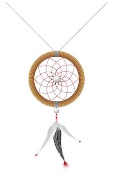 Amulett der indianervektorillustration
