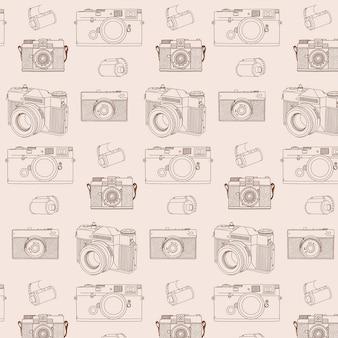 Analoges fotokameramuster