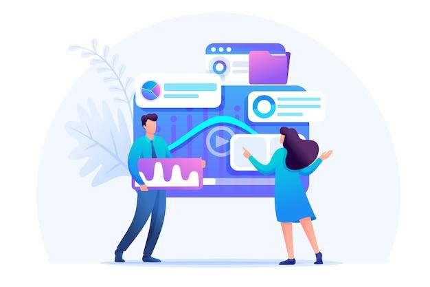Analyse digitaler marketingdaten