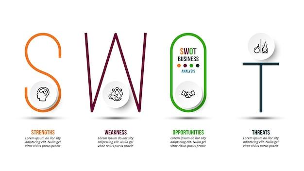 Analyse-geschäfts- oder marketing-infografik-vorlage
