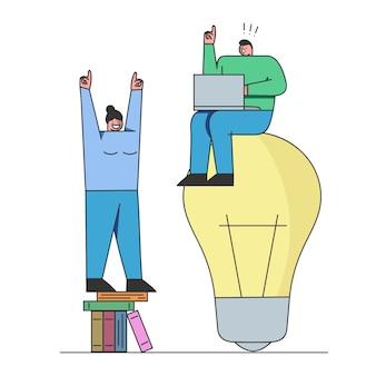Analyse von lösungen und gründung eines neuen business creative-teams