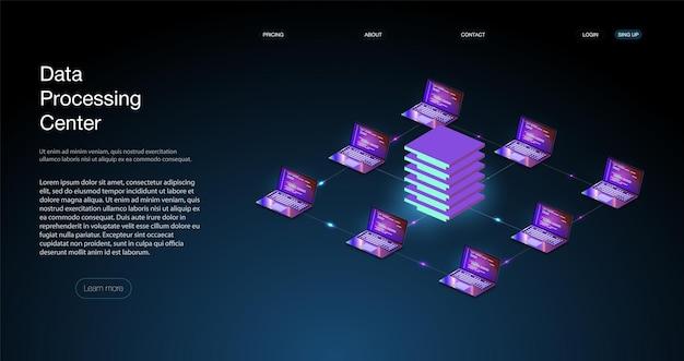 Analysetrends und codierungsprozesskonzept für die softwareentwicklung. programmieren, testen von plattformübergreifendem code serverraum-rechenzentrum. backup, mining, hosting, mainframe, farm.