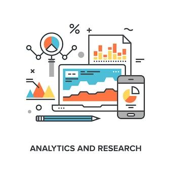 Analytik und forschung