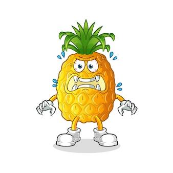 Ananas-monster