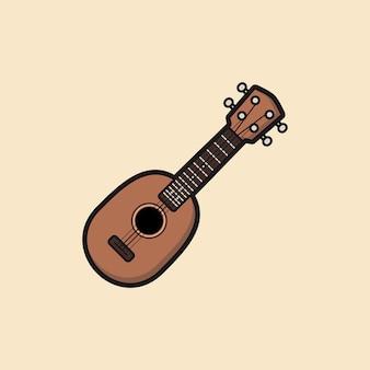 Ananas-sopran-ukulele