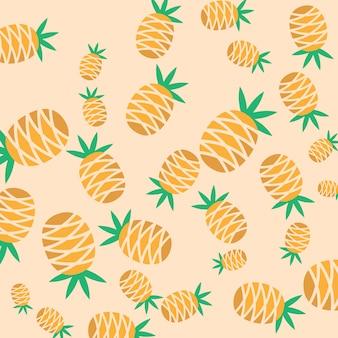Ananasmuster hintergrund