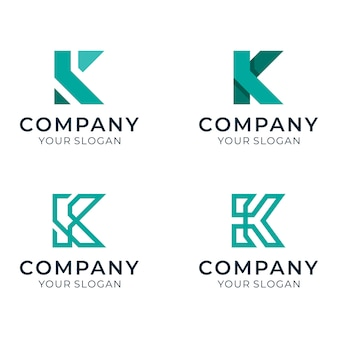 Anfängliches k-logo für die firma