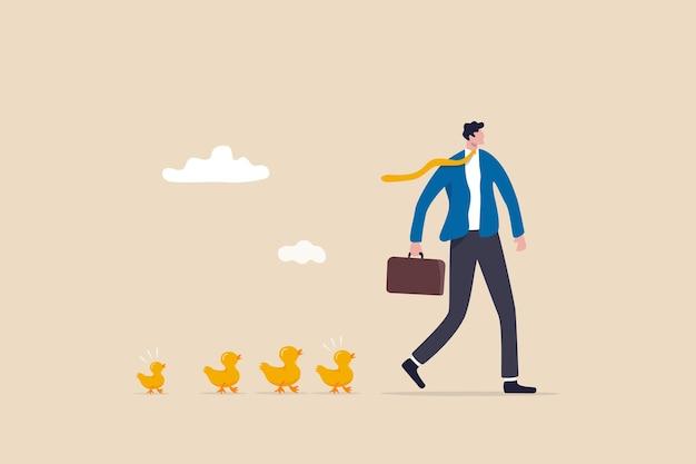 Anführer zu sein oder das team zu motivieren, vorwärts zu gehen, ist der erste oder beeinflusst den erfolg der follower