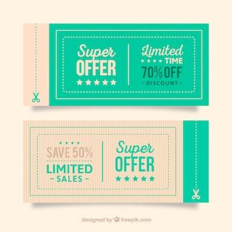 Angebot coupons