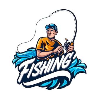Angeln logo vorlage