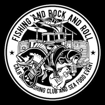 Angeln und rock & roll