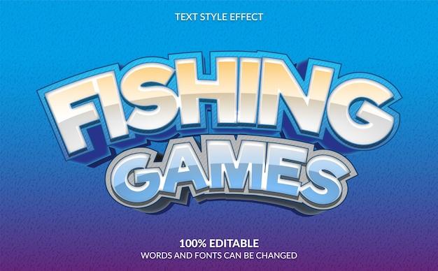 Angelspiele textstil gaming-texteffekt