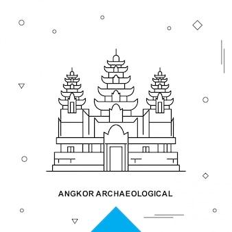 Angkor archaeological