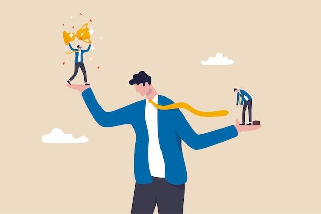 Angst vor sozialen vergleichen, sich mit anderen zu vergleichen, entmutigen, zu versagen