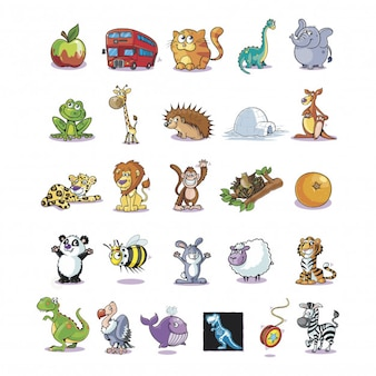 Animales infantiles pack01