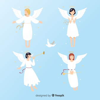 Anime flache engel sammlung