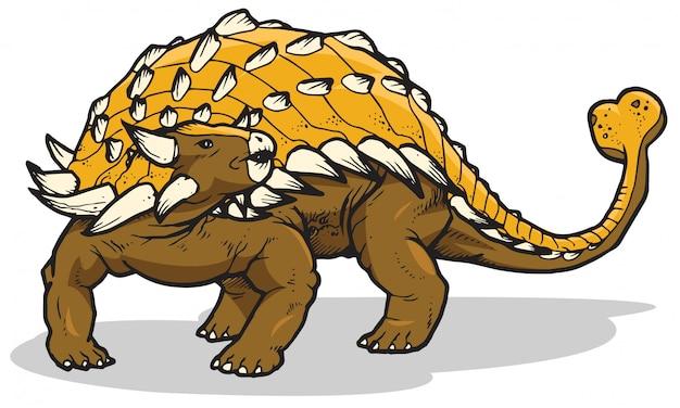 Ankylosaurus dinosaurier